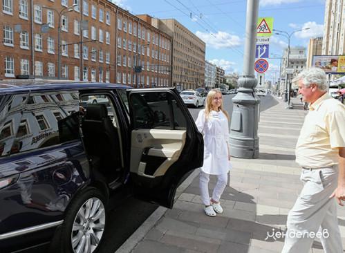 Предоставляем такси бизнес-класса после лечения