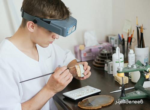 Изготовление протеза в собственной зуботехнической лаборатории