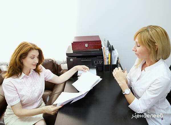 Подписывается договор, в котором фиксируется стоимость лечения и гарантии